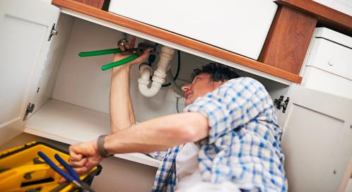 Plumbing leak detection and leak repair