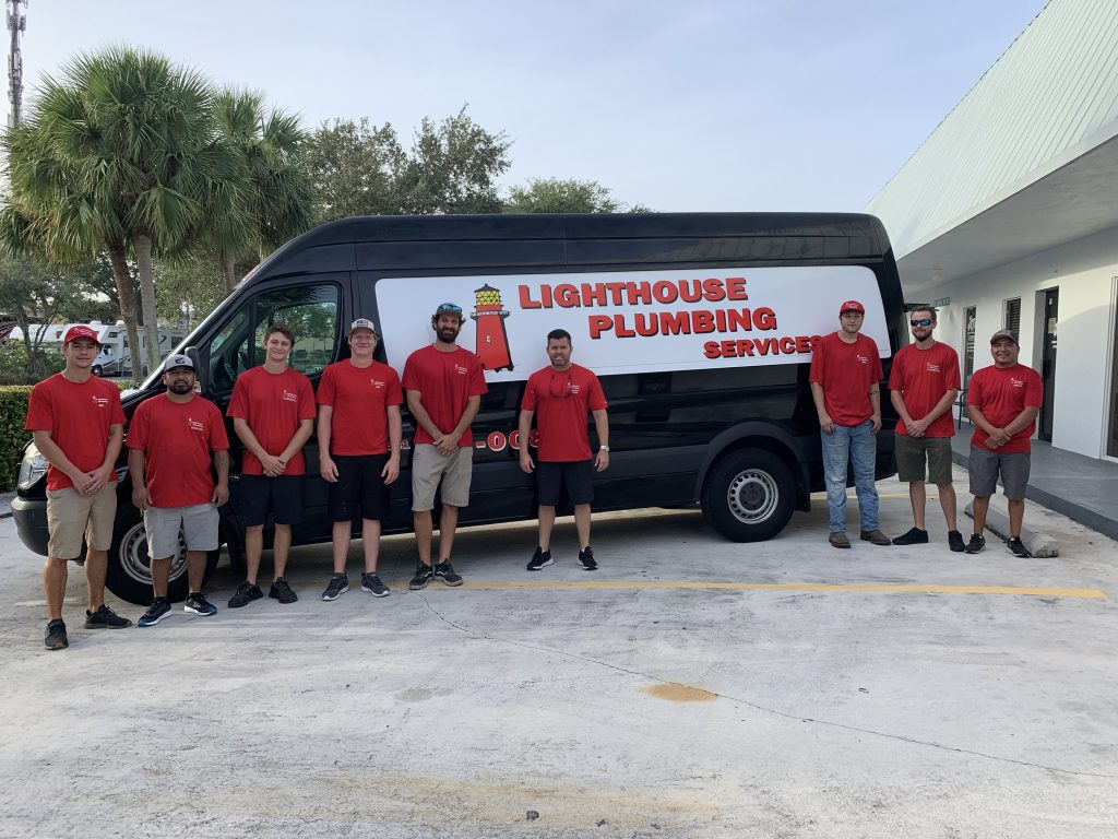 Lighthouse Plumbing Services team